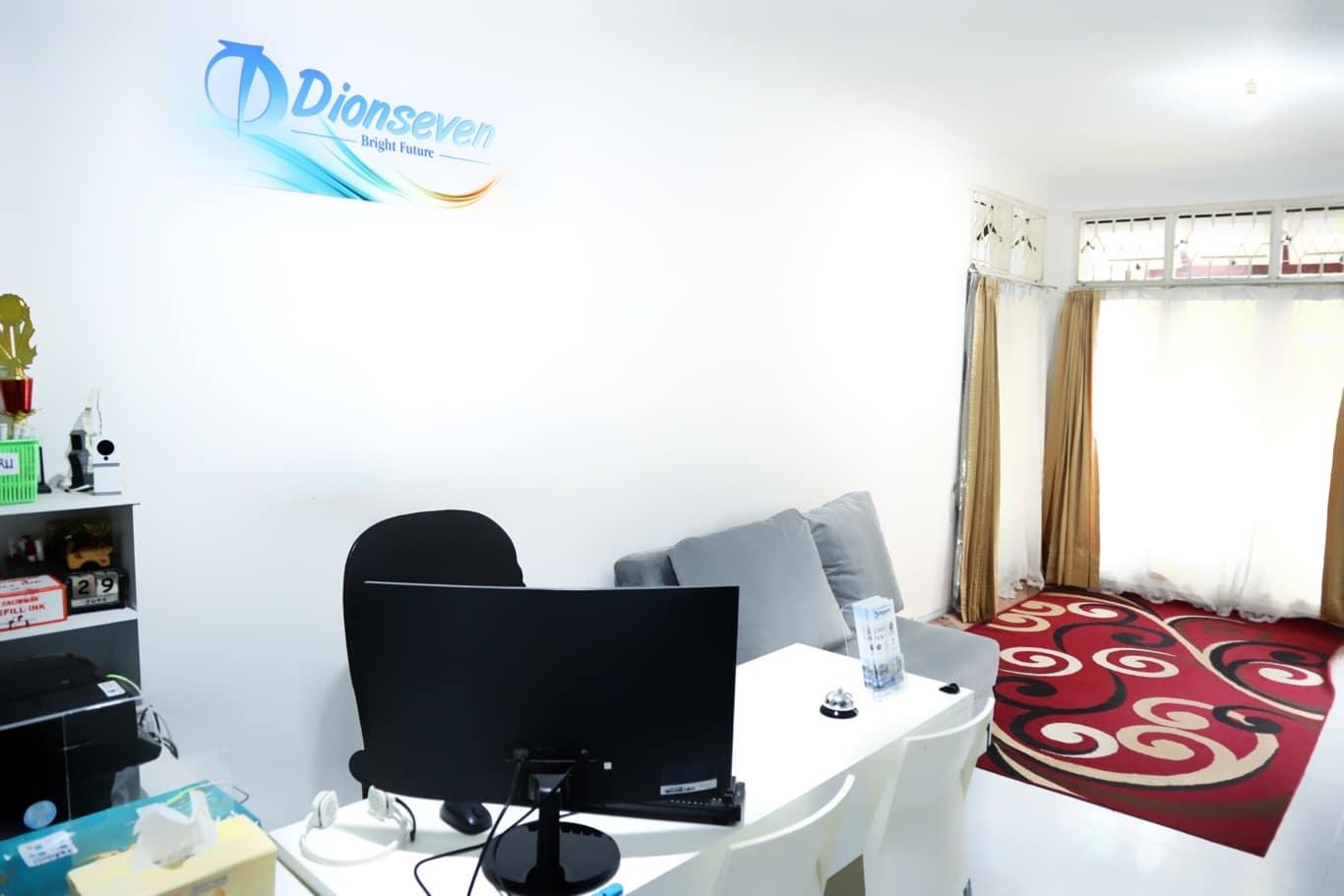 Ruang tunggu Bimbel CPNS Dionseven